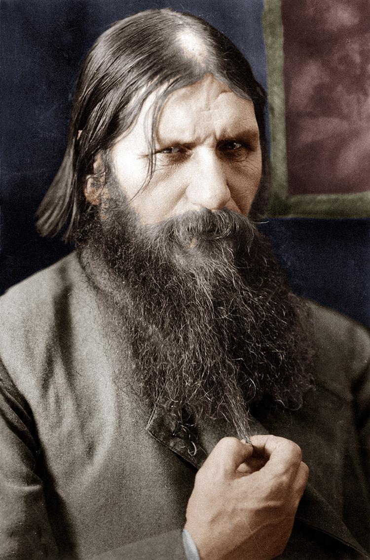 Court lecher: Rasputin, 1908