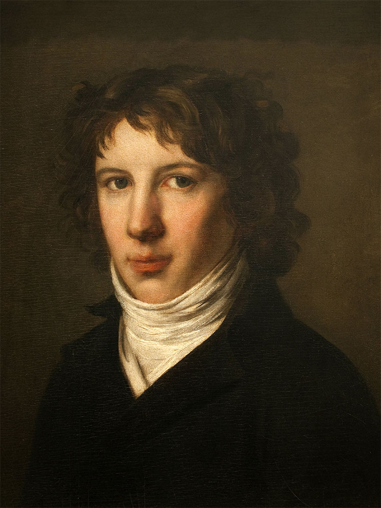 Saint-Just in a portrait by Pierre-Paul Prud'hon, 1793. Musée des Beaux-Arts, Lyon / Bridgeman Images