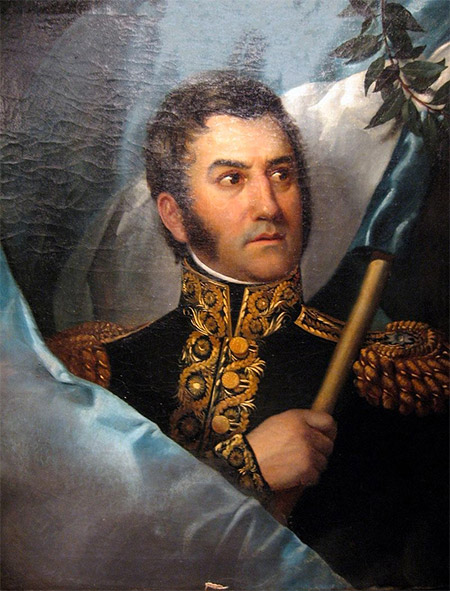 Portrait of José de San Martín