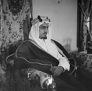 Eyes on the prize: Faisal al Saud, c. 1965.