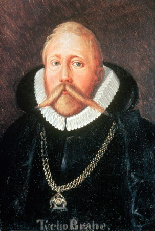 Tycho Brahe wearing the Order of the Elephant