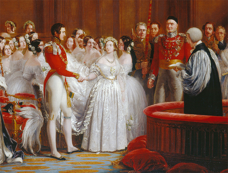 Queen Victoria S Wedding History Today