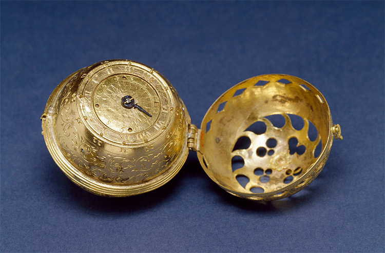 The earliest dated watch known, from 1530