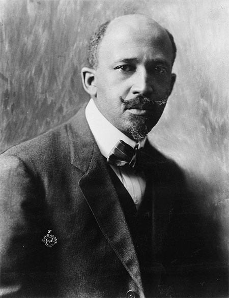 W. E. B. Du Bois, co-founder of the NAACP, in 1918