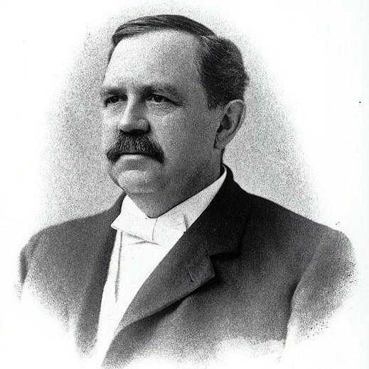 American chemist Wilbur Olin Atwater (1844-1907)