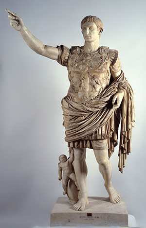 The Prima Porta Augustus statue, first century BC