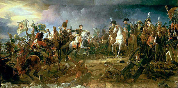 Napoléon at the Battle of Austerlitz, by François Gérard (Galerie des Batailles, Versailles).