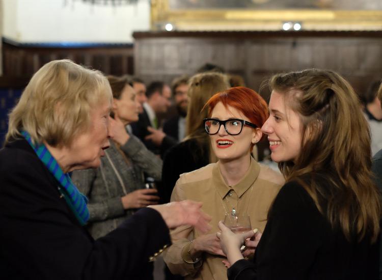 Sally Harvey, Naomi Lloyd-Jones and Fern Riddell, contributing editor at History Today