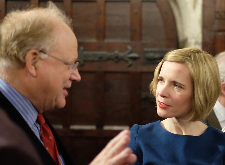 Robert Fox and Lucy Worsley