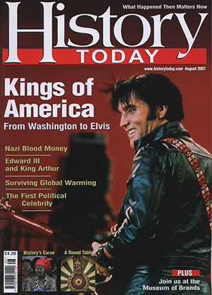 Front cover of the August 2007 issue.