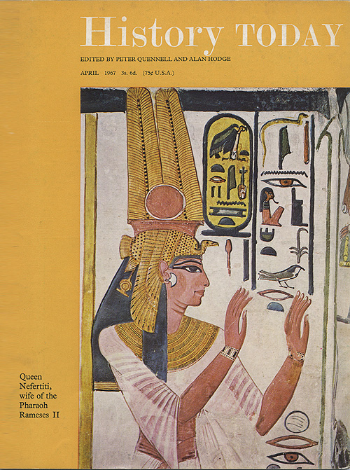 Front cover of the April 1967 issue.