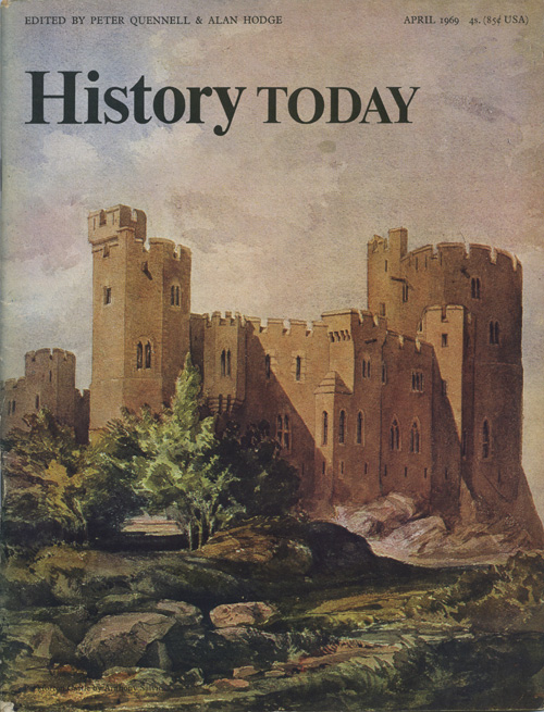 Front cover of the April 1969 issue.