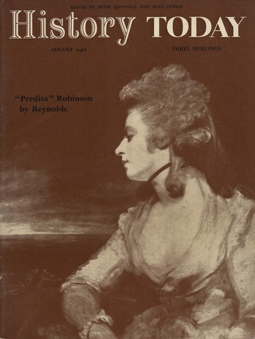 Front cover of the August 1962 issue.