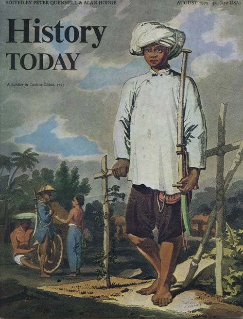Front cover of the August 1970 issue.