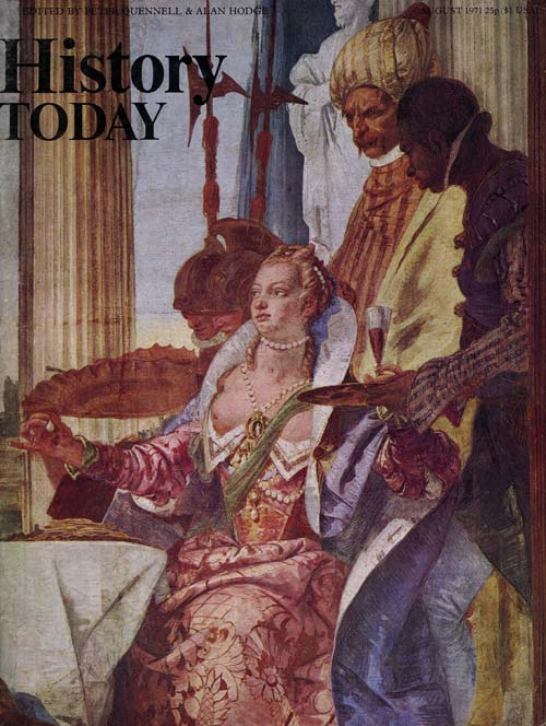 Front cover of the August 1971 issue.