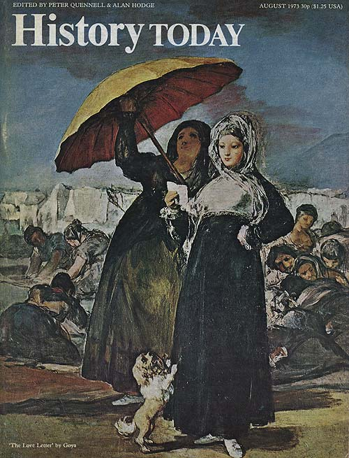 Front cover of the August 1973 issue.