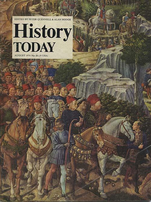 Front cover of the August 1974 issue.