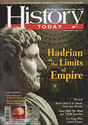 Front cover of the August 2008 issue.