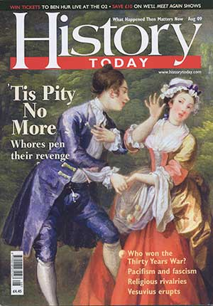 Front cover of the August 2009 issue.