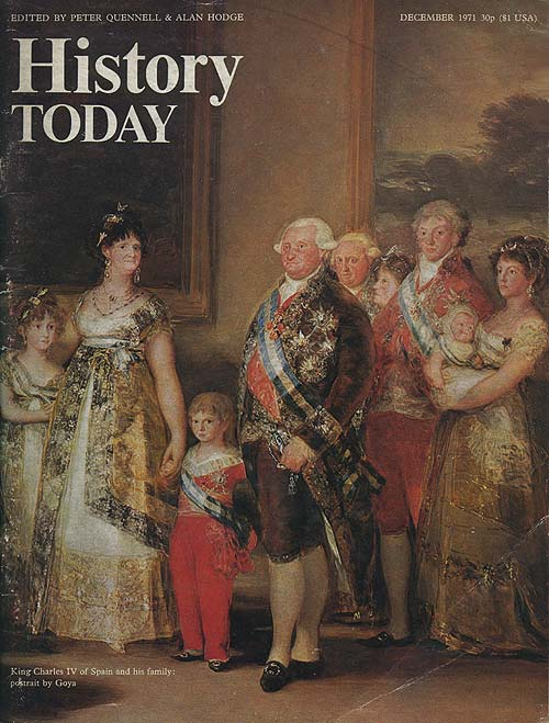 Front cover of the December 1971 issue.
