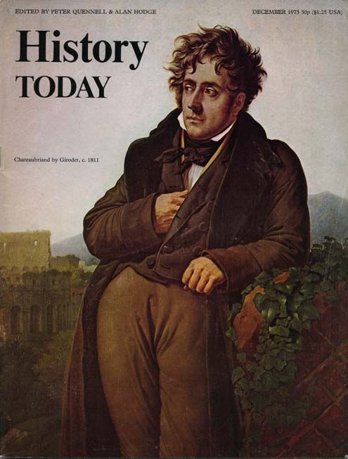 front cover of the December 1973 issue.