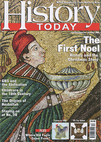Front cover of the December 2006 issue.