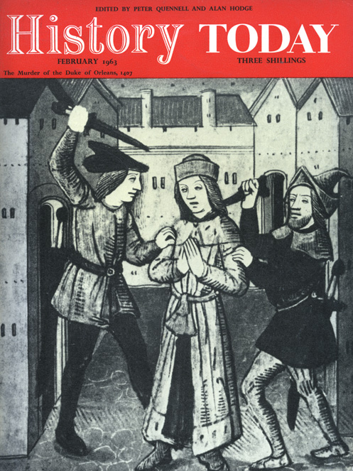 Front cover of the February 1963 issue.