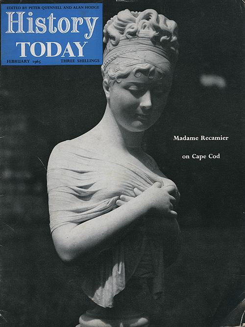 Front cover of the February 1965 issue.
