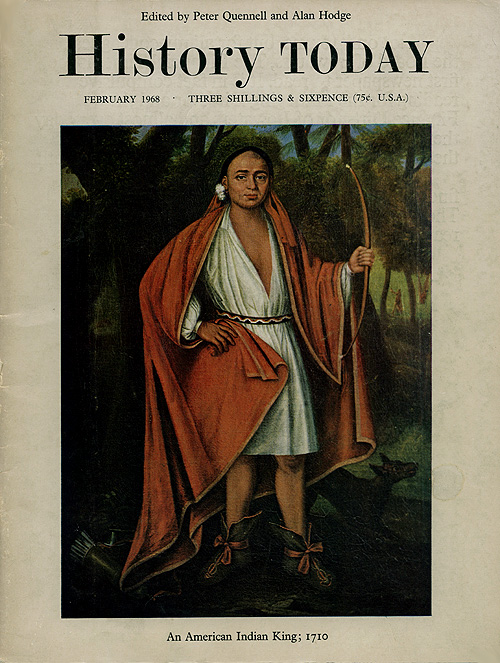 Front cover of the February 1968 issue.