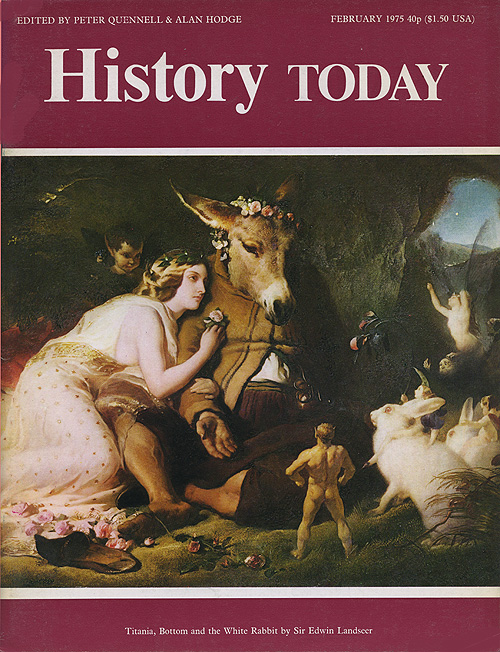 Front cover of the February 1975 issue.