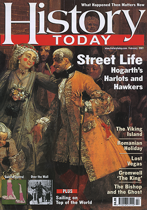 Front cover of the February 2007 issue.