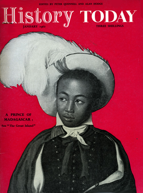 Front cover of the January 1962 issue.