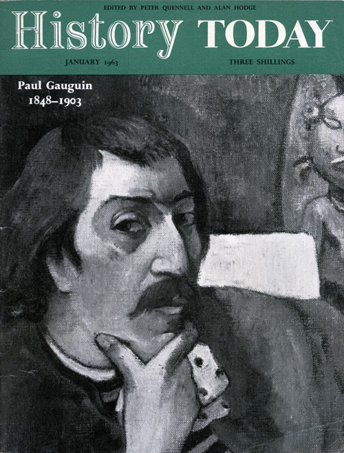 Front cover of the January 1963 issue.