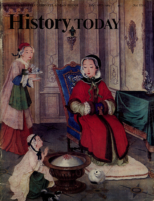 Front cover of the January 1969 issue.