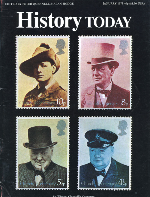 Front cover of the January 1975 issue.