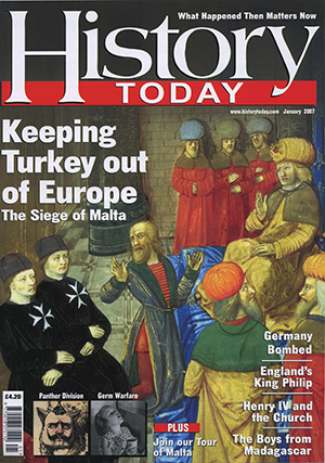 Front cover of the January 2007 issue.