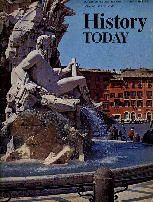 Front cover of the July 1971 issue.