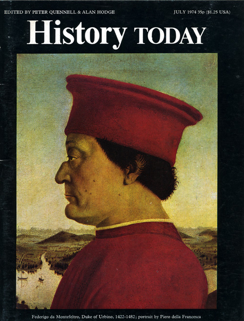Front cover of the July 1974 issue.