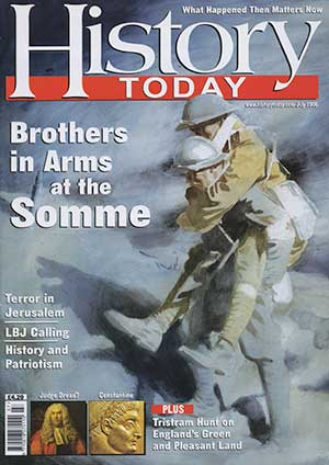 Front cover of the July 2006 issue.