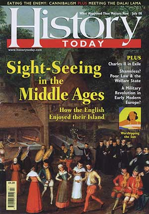 Front cover of the July 2008 issue.