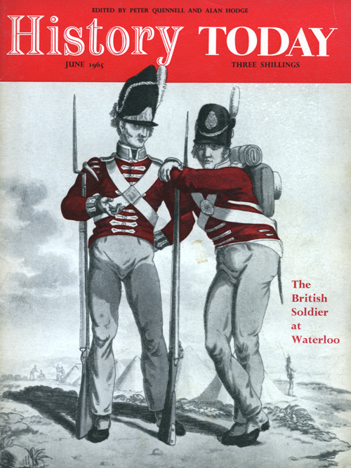 Front cover of the June 1965 issue.