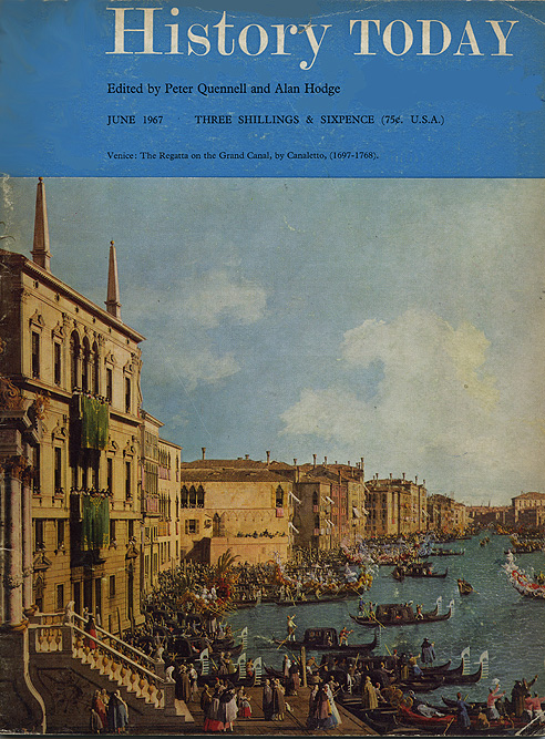 Front cover of the June 1967 issue.