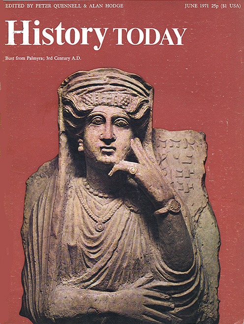 Front cover of the June 1971 issue.