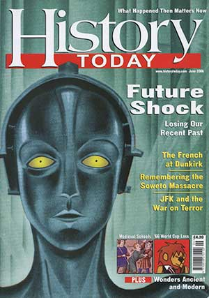 Front cover of the June 2006 issue.
