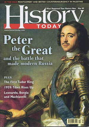 Front cover of the March 2009 issue.