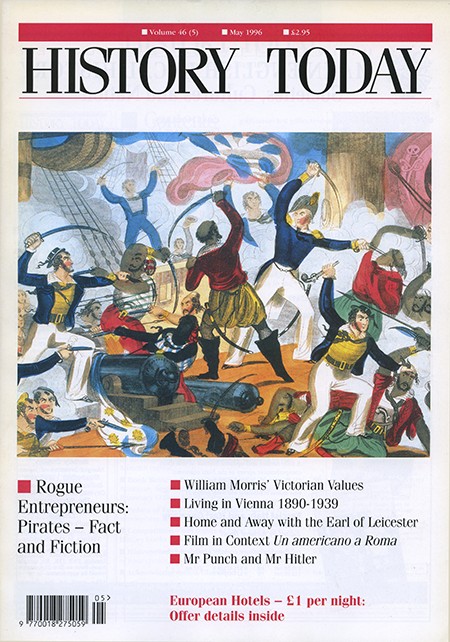 Front cover of the May 1996 issue.