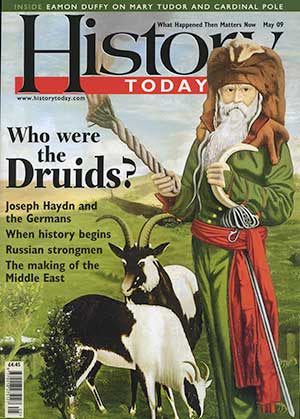 Front cover of the May 2009 issue.