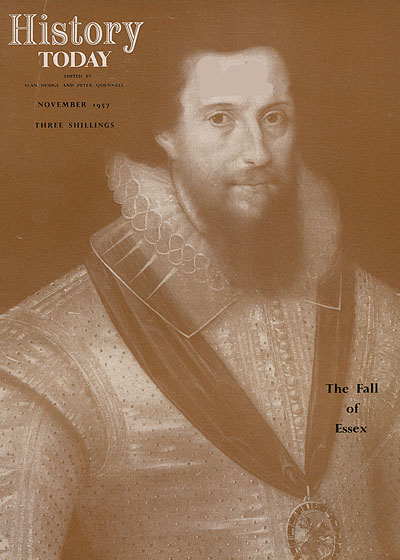 Front cover of the November 1957 issue.