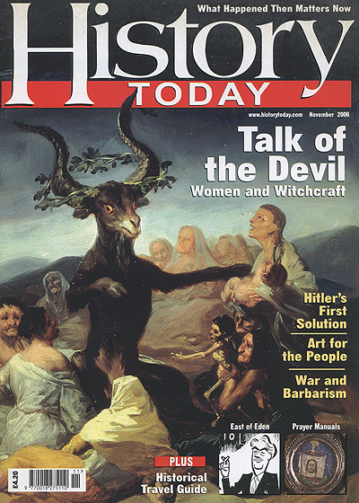 Front cover of the November 2006 issue.
