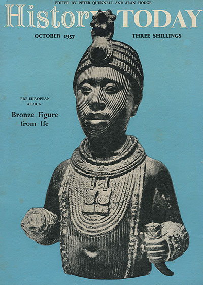 Front cover of the October 1957 issue.
